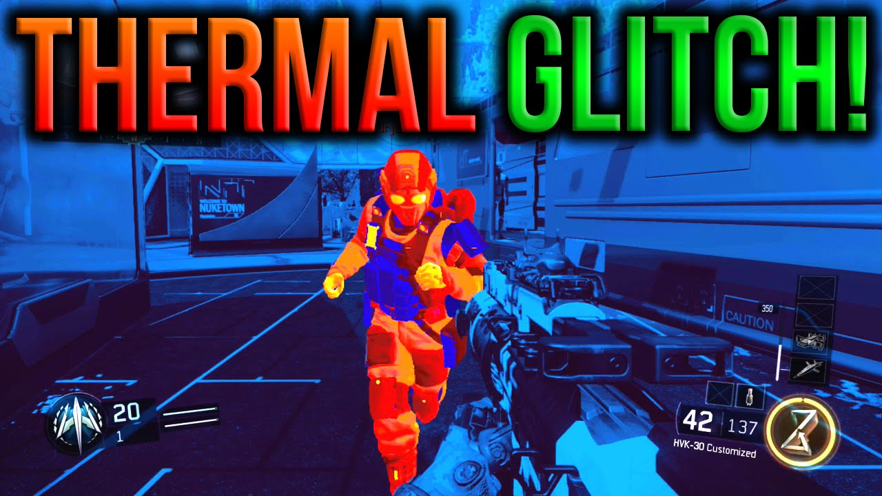 Xbox One - THERMAL GLITCH WITHOUT A SIGHT OR SCOPE