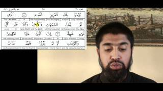 sura 85 Follow up Wisam Sharieff