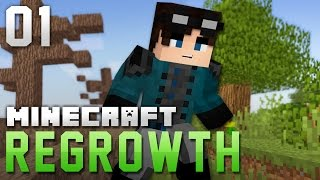 Minecraft Regrowth | ALL THE CRAFTIN BE DIFFERENT | Ep 1 (Modded Minecraft)