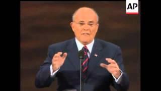 Former New York City mayor Rudy Giuliani said Sen. John McCain is the man the people should trust to