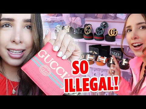 BUYING FAKE GUCCI, DIOR IN LONDON'S BIGGEST STREET MARKET - CAMDEN (I FILMED EVERYTHING) | Mar