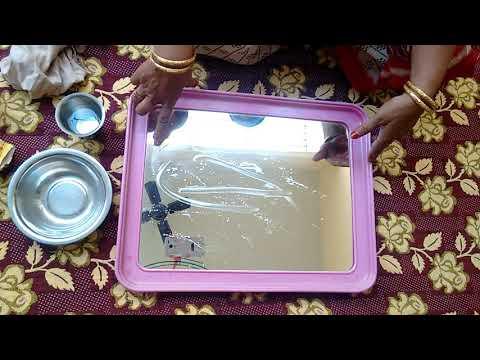 How to clean mirror easily/ கண்ணாடியை பளபளப்பாக்குவது எப்படி?