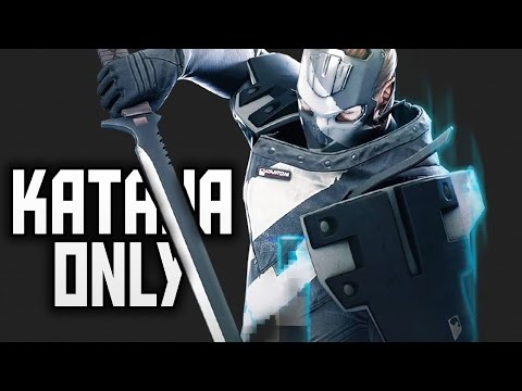 Phantom Katana Only! - Dirty Bomb Stopwatch Chapel Gameplay