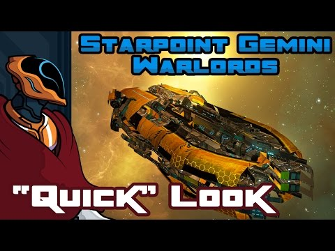 "Starpoint Gemini Warlords ""Quick"" Look - PC Gameplay - How Do I Fly This Thing?!"