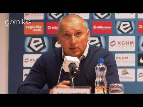 Zagłębie Lubin 0-2 Górnik Zabrze. Konferencja prasowa: Mariusz Lewandowski (06-05-2018)
