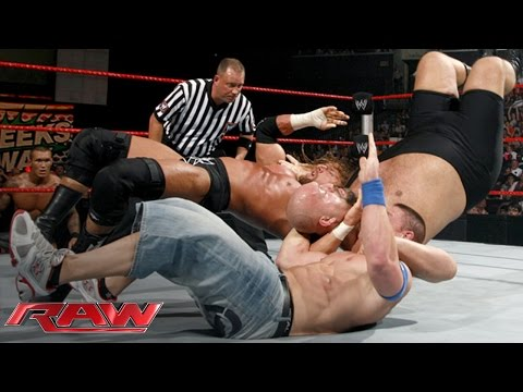 Thumbnail: Cena vs. Orton vs. Triple H vs. Big Show — Fatal 4-Way WWE Championship Match: Raw, June 15, 2009