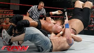 Cena vs. Orton vs. Triple H vs. Big Show - Fatal 4-Way WWE Championship Match: Raw, June 15, 2009