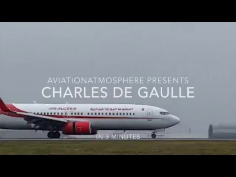 AviationAtmosphere : PlaneSpotting in Paris (WINDY!)
