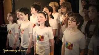 HAPPY NEW YEAR 2016 -The Fantastikids, english children choir