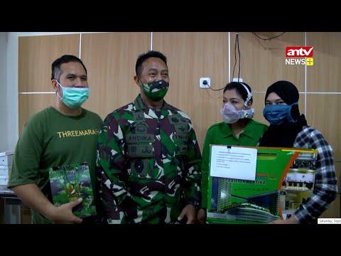 Kasad Lepas Kepulangan Karyawan ANTV Maulana dari RSPAD | ANTV