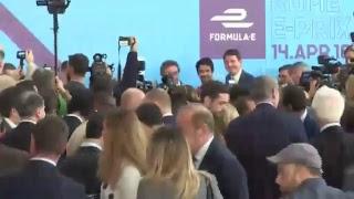 Virginia Raggi presenta il Gran Premio di Formula E a Roma