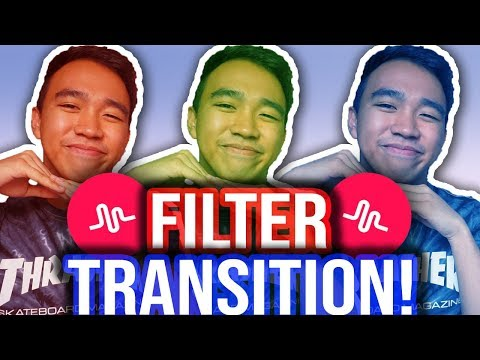 MUSICAL.LY FILTER TRANSITION TUTORIAL! #FilterTransition (iOS & Android) *NEW*