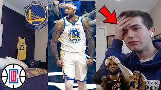 WARRIORS HATER REACTS TO BOOGIE'S FIRST GAME VS CLIPPERS. RANT.. HOW IS THIS FAIR