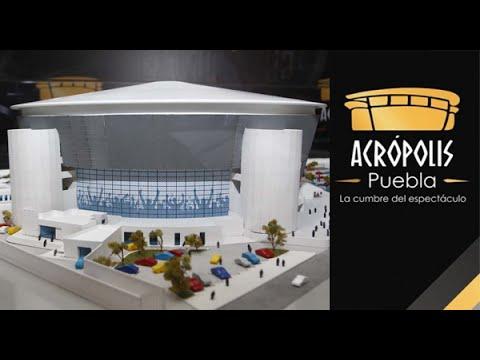 Acrópolis Puebla abre sus puertas con el concierto de Juan Gabriel