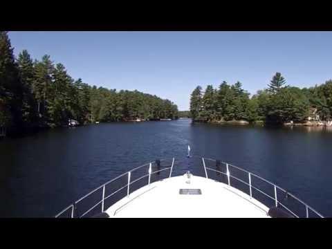 Boating Swift Rapids To Severn Falls  - Sit Back Sunday GoPro Cruise