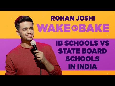 IB Schools Vs State Board Schools In India | Rohan Joshi | Wake N Bake