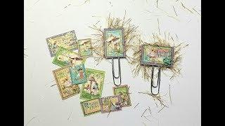 Fairy Traveler's Notebook Part 4:  Paper Clip Art