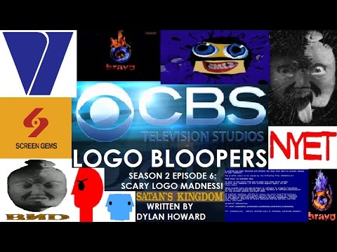 CBS Television Studios Logo Bloopers Season 2 Episode 6: Scary Logo Madness!