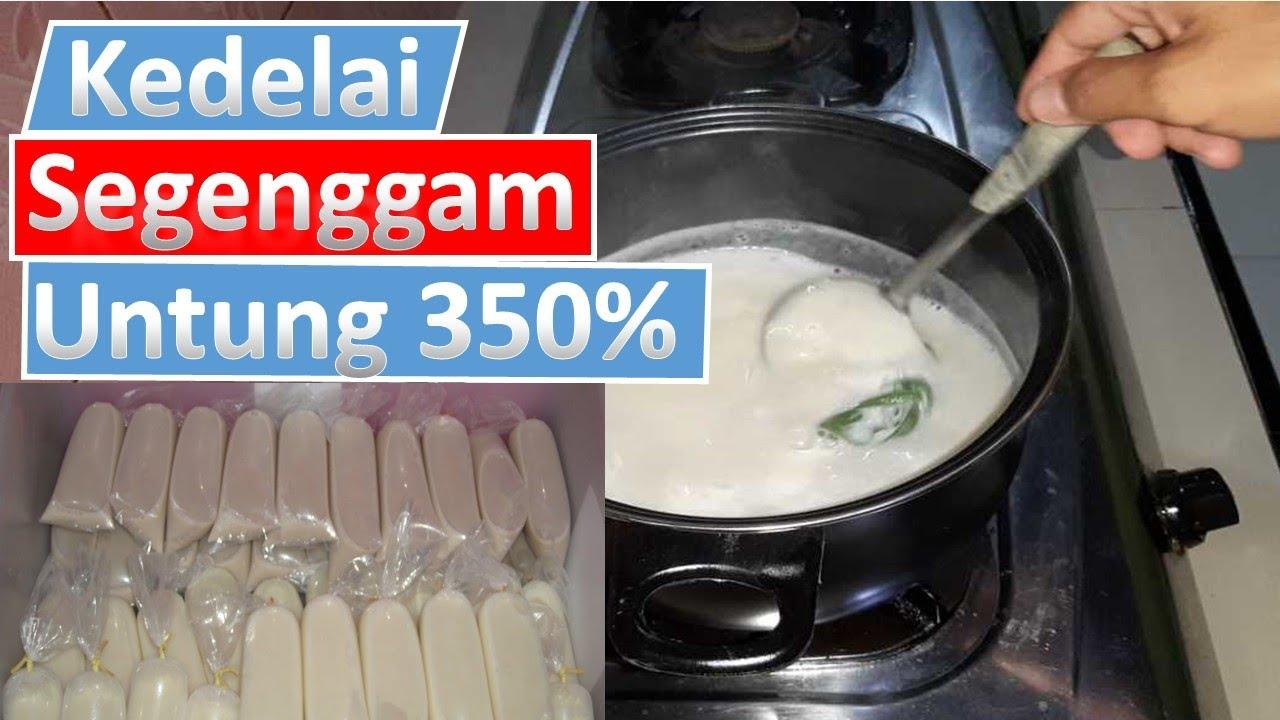 Cara Membuat Susu Kedelai Yang Kental - Bisnis Modal Kecil ...
