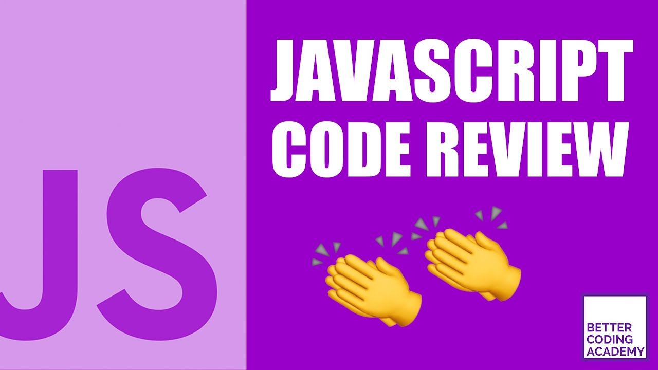 Code Review By Professional JavaScript Developer   Code Review #6