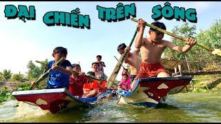 Cuộc Thi Đua Thuyền Trên Sông - Kì Phùng Địch Thủ - Rowing race | anh ba phai tv