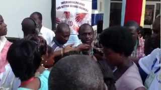 Asiedu Nketia Speaks to Journalists