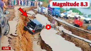 India Earthquake today | Magnitude 8.3 hits India city | Weather today | The Irfan Films