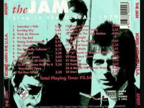 The Jam - The Butterfly Collector
