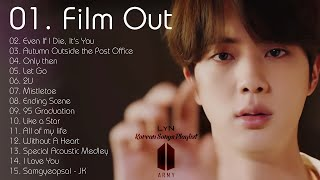 FILM OUT IS THE BEST - BTS soft \u0026 chill playlist (study,relax,sleep) 🎵 방탄소년단 발라드 노래모음💜 防弾曲のコレクション