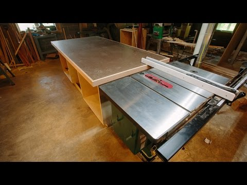 Outfeed Assembly Table Build