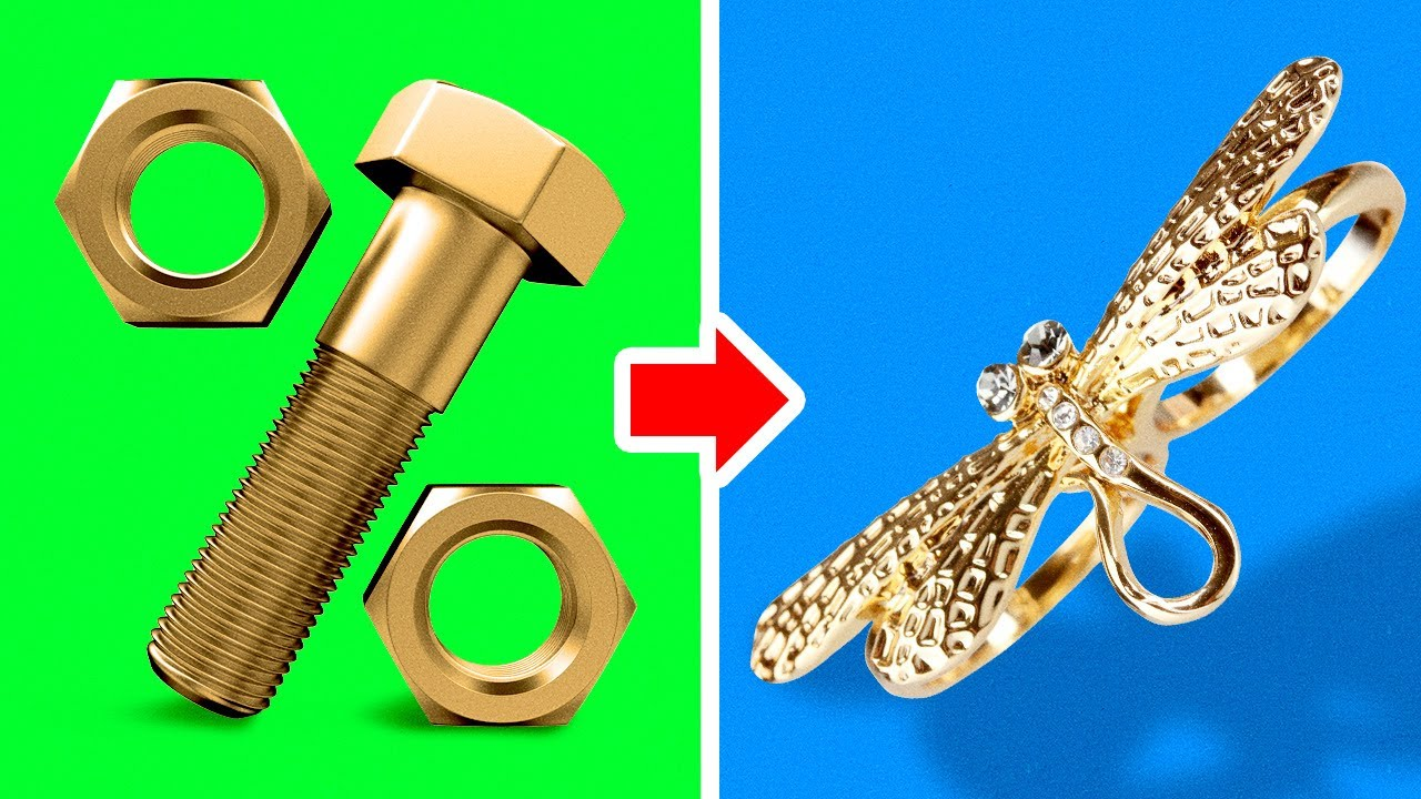 UNBELIEVABLE CRAFTS From Bolt And Nut || Amazing Challenges For a Master by 5-Minute DECOR!