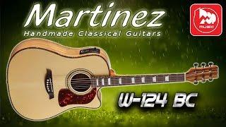 Электроакустическая гитара MARTINEZ W-124BC