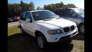 Опачки 2006 BMW X5 за 1750$....