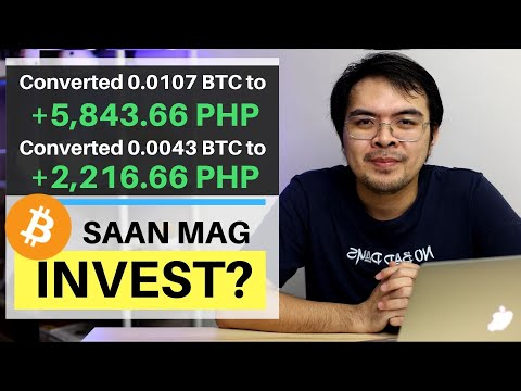 How To Invest In Bitcoin For Beginners Tagalog - Saan Legit Mag Invest
