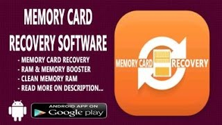 SD Memory Card Recovery Software Free Download
