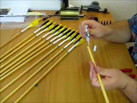 How to build a wooden arrow