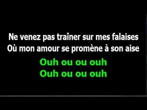 *** Instrumental karaoké *** Jaloux de tout - Julien Clerc