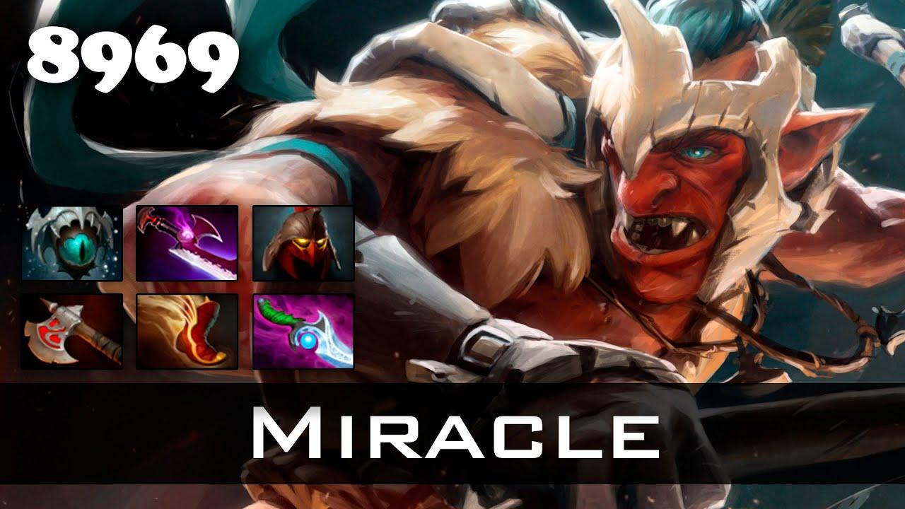 miracle troll warlord 8969 mmr ranked dota 2 youtube