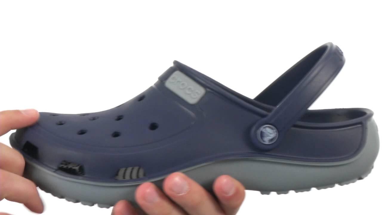 de2a2c3caad3d Crocs Duet Wave Clog SKU 8474080 - YouTube