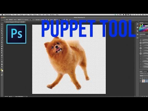 How To Use The Puppet Warp Tool In Photoshop - Photoshop Tutorial