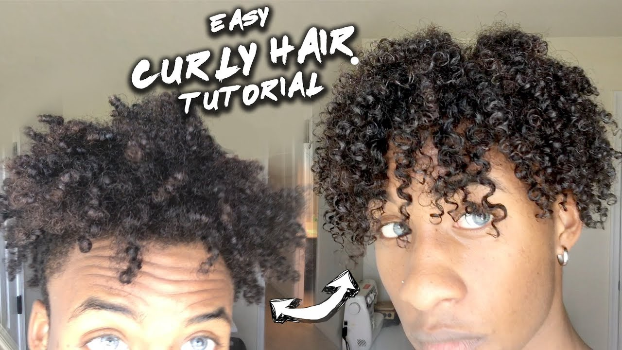 From Nappy Hair To Curly Hair Easy Tutorial Many Ethnicities Product Review