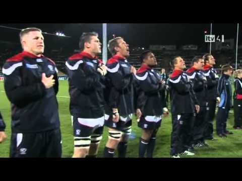 RWC 2011 USA vs Russia anthem