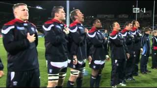 RWC 2011 USA vs Russia anthem