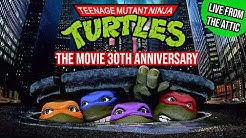 Teenage Mutant Ninja Turtles 1990 Movie Celebrates 30th Anniversary - Live From The Attic - TMNT