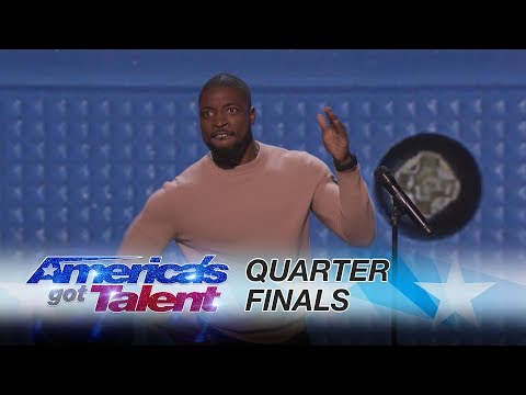 Preacher Lawson: Comedian Covers Clapping to Smartphones  America's Got Talent 2017