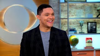 "Trevor Noah on taking ""Born a Crime"" from the page to students' ears"