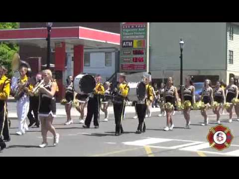 Mahanoy Area High School Marching Band Memorial Day 2015
