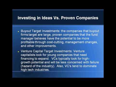 Buyout vs Venture Capital   CPEP