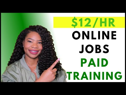 Work-From-Home Jobs Now Hiring! Paid Training | Online, Remote Work-At-Home Jobs October 2019