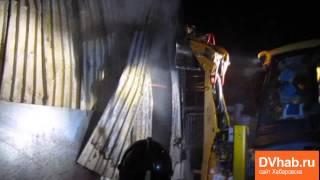 пожар на складе пластиковых окон